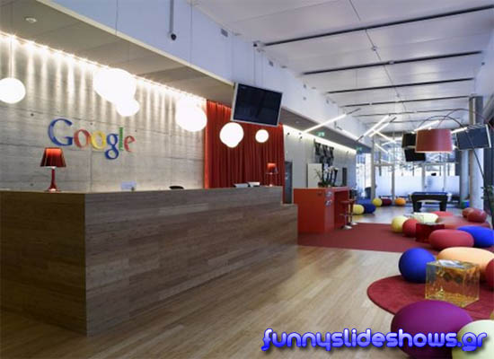 Τα Γραφεία Της Google Στη Ζυρίχη