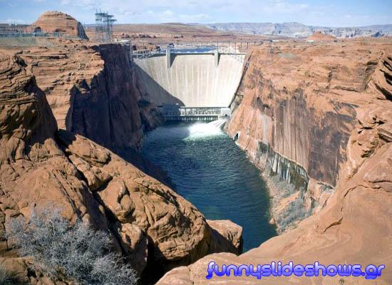 Grand Canyon - Φράγμα Glen